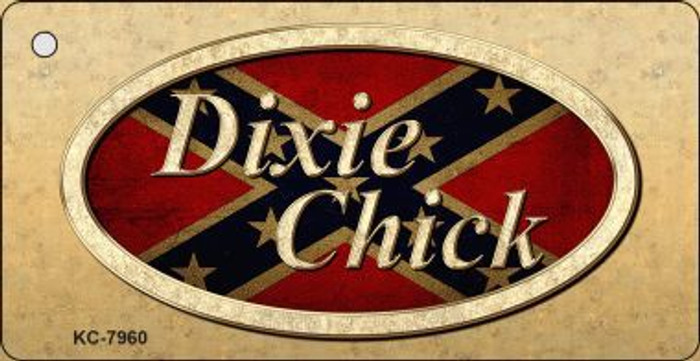 Dixie Chick Novelty Key Chain