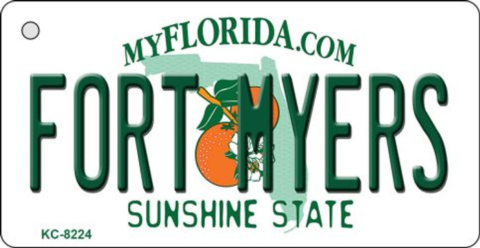 Fort Meyers Florida Novelty Key Chain