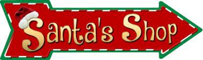 Santas Shop Novelty Metal Arrow Sign A-180