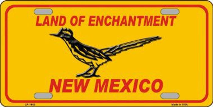 Road Runner New Mexico Novelty Metal License Plate