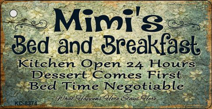 Mimis Bed & Breakfast Novelty Metal Key Chain