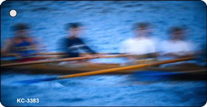 Rowers Blurred Novelty Key Chain