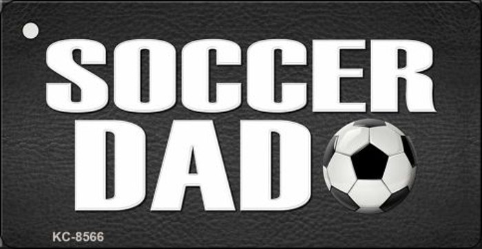 Soccer Dad Novelty Metal Key Chain