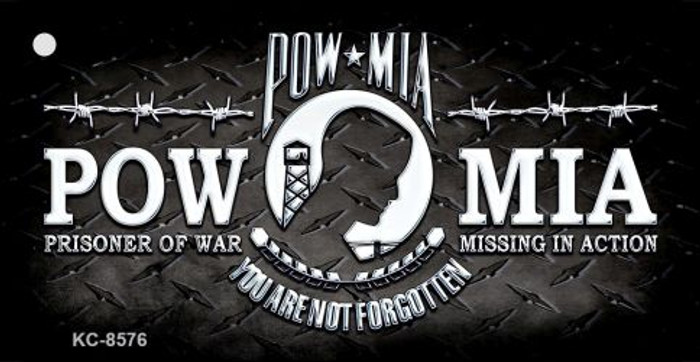 POW MIA Novelty Metal Key Chain