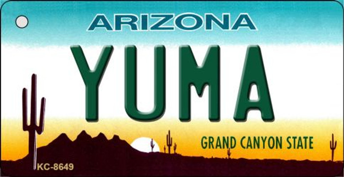 Yuma Arizona Background Novelty Metal Key Chain