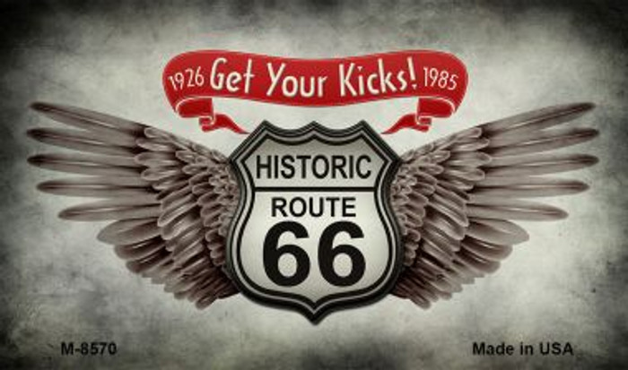 Get Your Kicks Novelty Metal Magnet