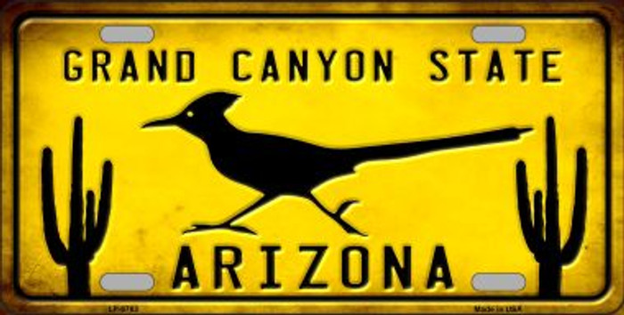 Arizona Grand Canyon State Novelty Metal License Plate