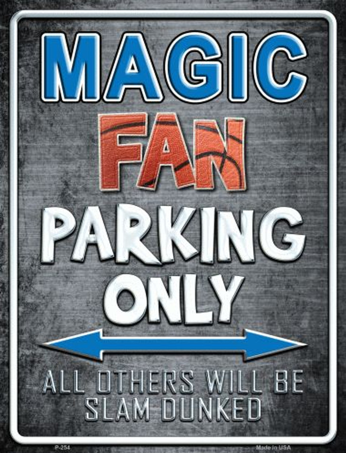 Magic Metal Novelty Parking Sign