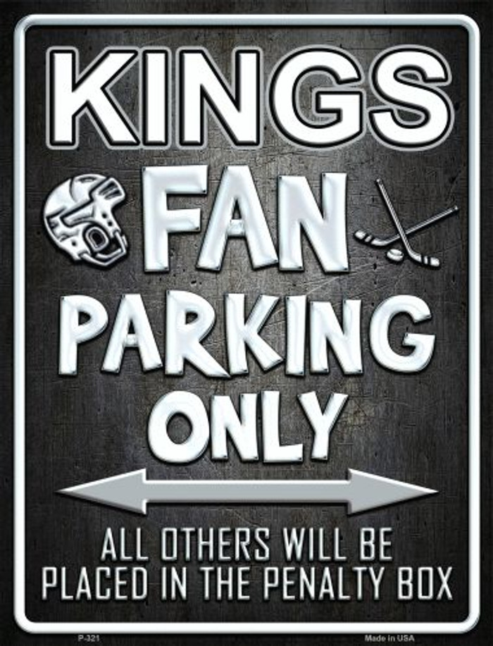 Kings Metal Novelty Parking Sign