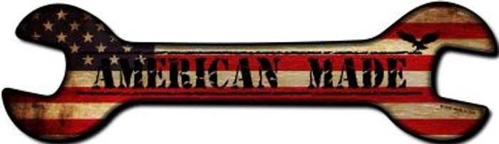 American Made Novelty Metal Wrench Sign