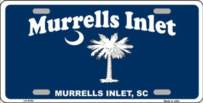 Murrells Inlet Novelty Metal License Plate