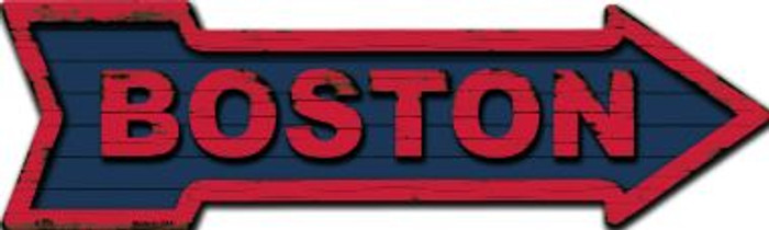 Boston Novelty Metal Arrow Sign