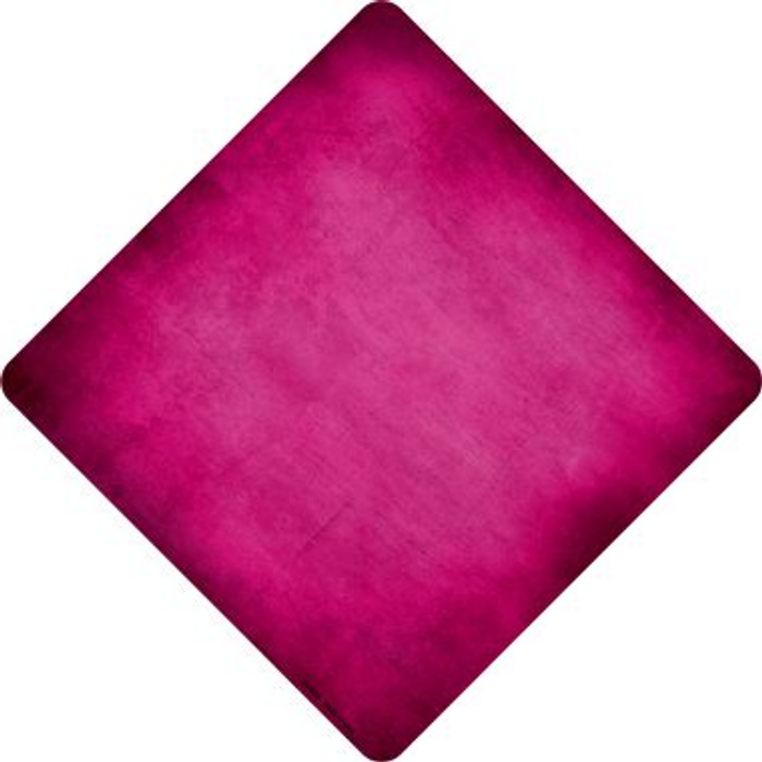 Pink Oil Rubbed Novelty Metal Crossing Sign