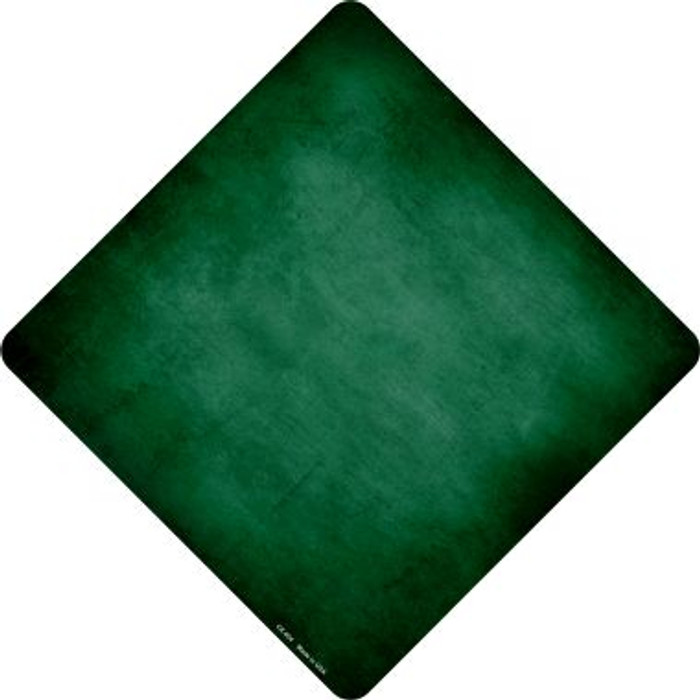 Green Oil Rubbed Novelty Metal Crossing Sign