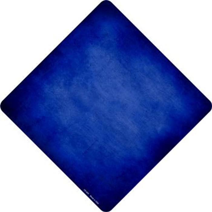 Blue Oil Rubbed Novelty Metal Crossing Sign
