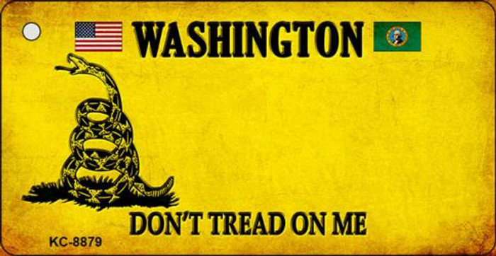 Washington Don't Tread On Me Novelty Key Chain