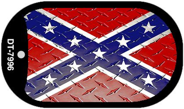 Confederate Flag Dog Tag Kit Wholesale Metal Novelty