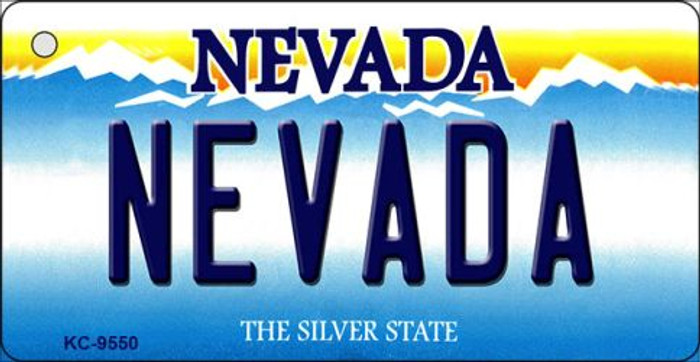 Nevada Nevada Background Novelty Key Chain
