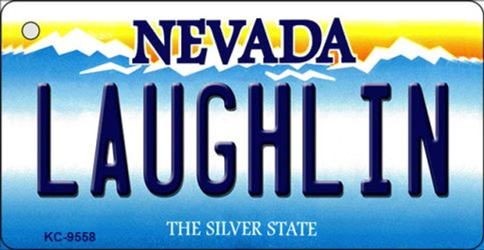 Laughlin Nevada Background Novelty Key Chain