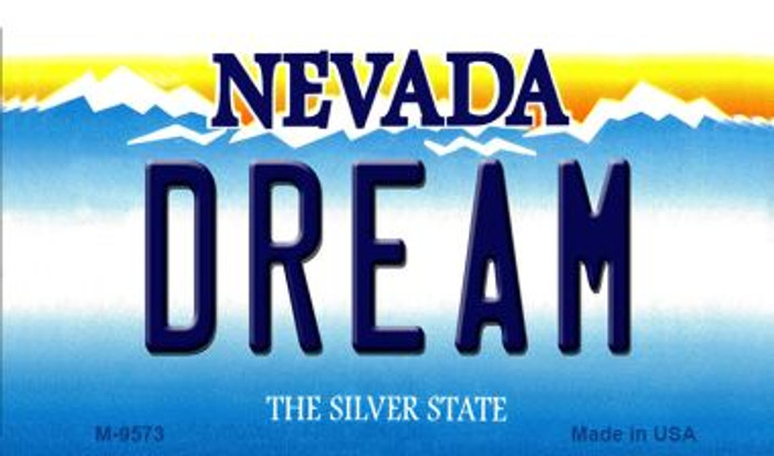 Dream Nevada Background Novelty Metal Magnet