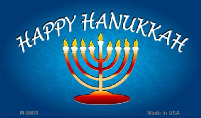 Hanukkah Novelty Metal Magnet