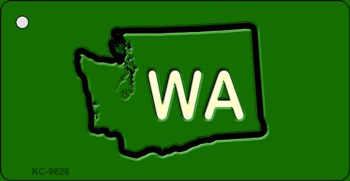 WA State Novelty Metal Key Chain