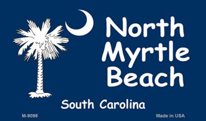 North Myrtle Beach Wholesale Novelty Metal Magnet