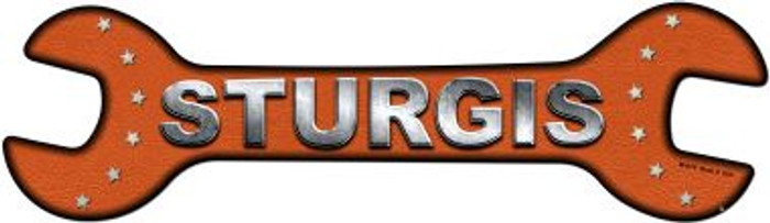 Sturgis Novelty Metal Wrench Sign W-078