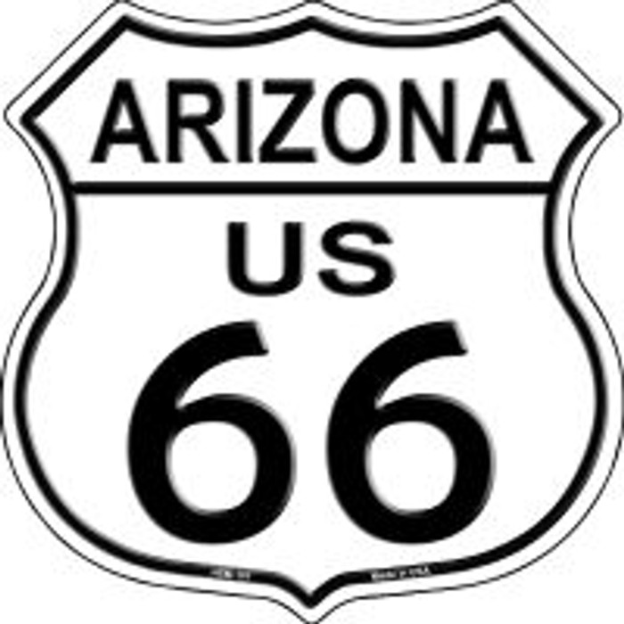 Route 66 Arizona Highway Shield Novelty Metal Magnet HSM-101
