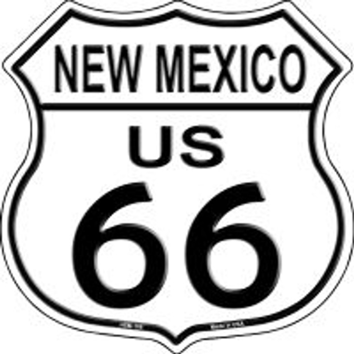 Route 66 New Mexico Highway Shield Novelty Metal Magnet HSM-106