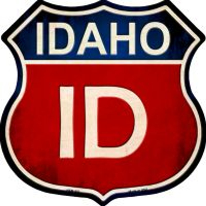 Idaho Highway Shield Novelty Metal Magnet