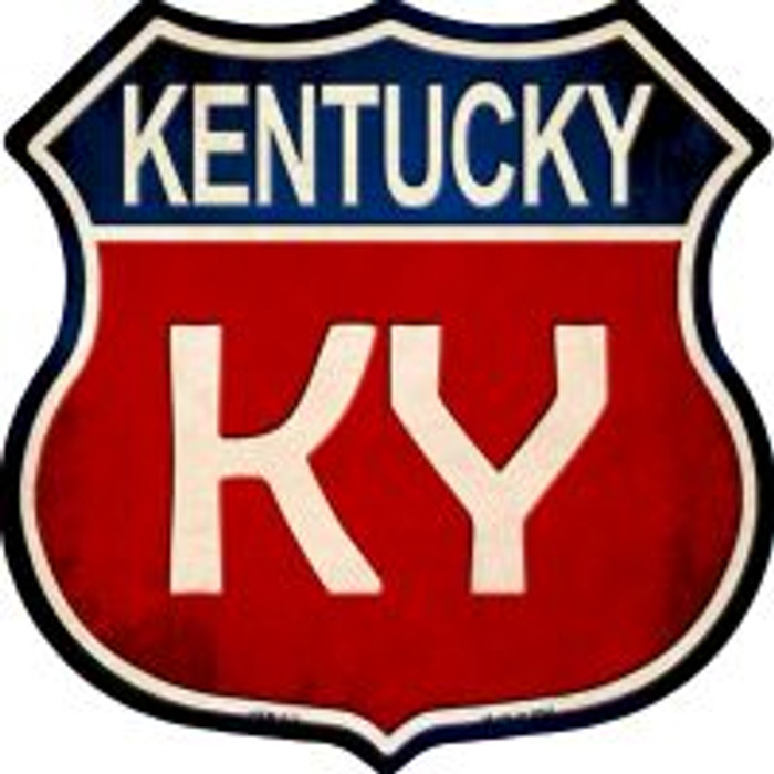 Kentucky Highway Shield Novelty Metal Magnet