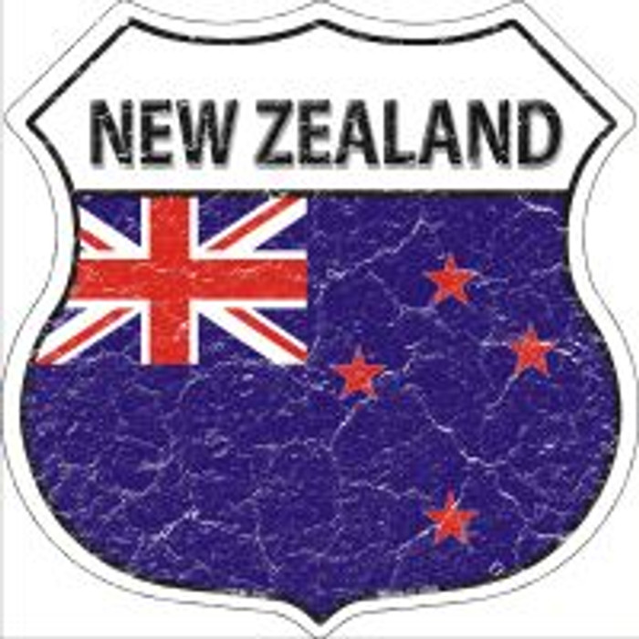 New Zealand Highway Shield Novelty Metal Magnet