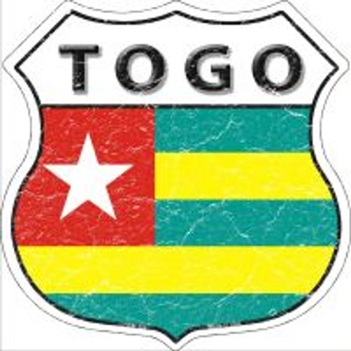Togo Highway Shield Novelty Metal Magnet