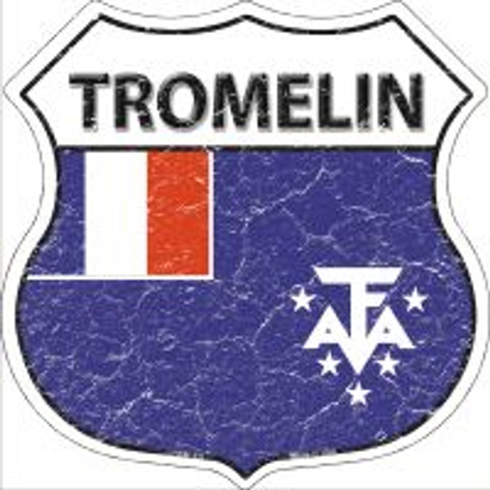 Tromelin Highway Shield Novelty Metal Magnet