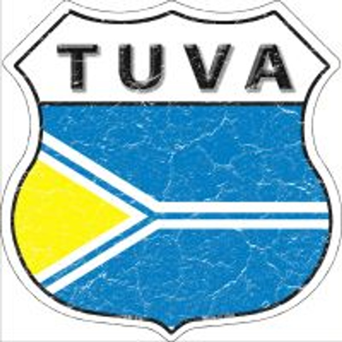 Tuva Highway Shield Novelty Metal Magnet