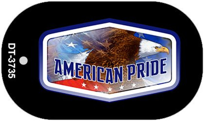 "American Pride Dog Tag Kit 2"" Metal Novelty"