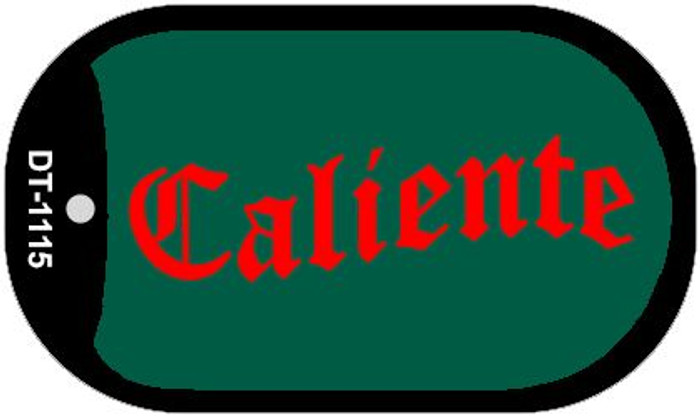 "Caliente Dog Tag Kit 2"" Metal Novelty"