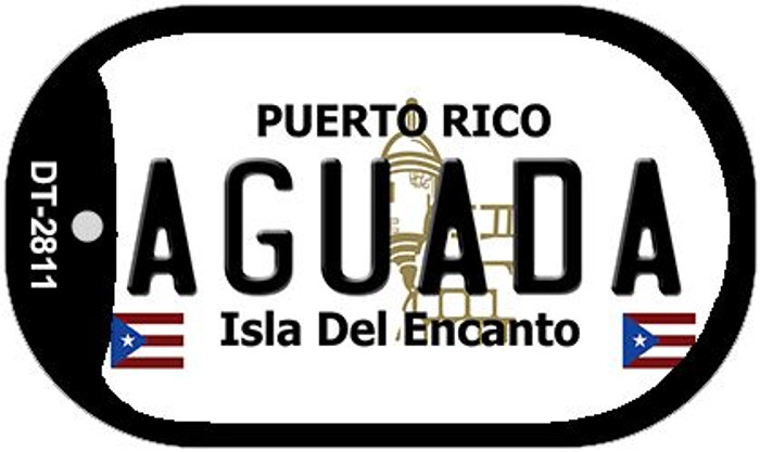 "Aguada Puerto Rico Dog Tag Kit 2"" Metal Novelty"