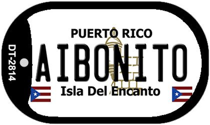"Aibonito Puerto Rico Dog Tag Kit 2"" Metal Novelty"