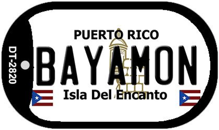 "Bayamon Puerto Rico Dog Tag Kit 2"" Metal Novelty"