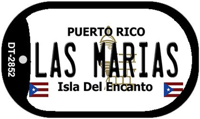 "Las Marias Puerto Rico Dog Tag Kit 2"" Metal Novelty"