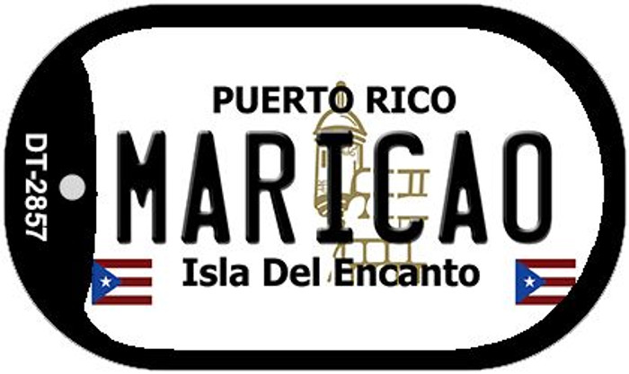 "Maricao Puerto Rico Dog Tag Kit 2"" Metal Novelty"