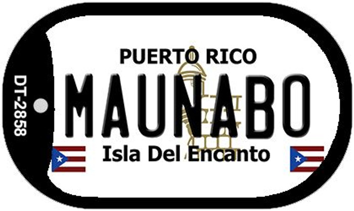 "Maunabo Puerto Rico Dog Tag Kit 2"" Metal Novelty"