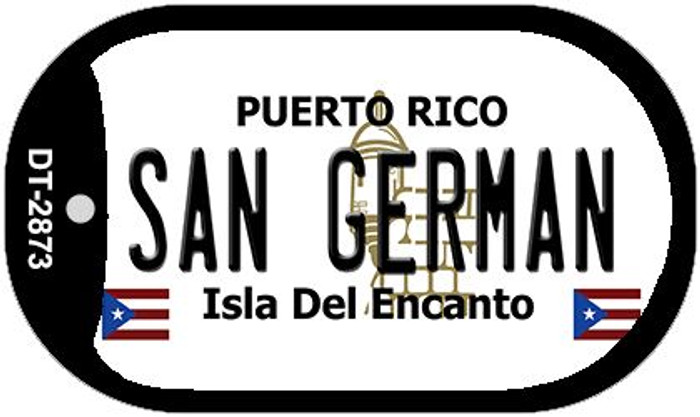 "San German Puerto Rico Dog Tag Kit 2"" Metal Novelty"