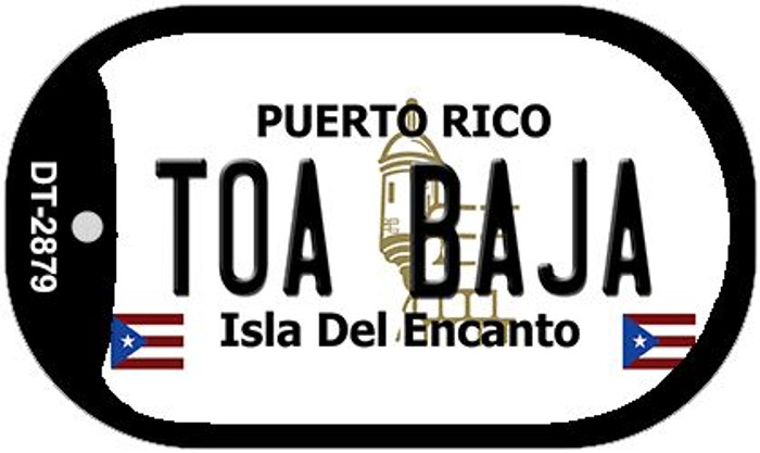 "Toa Baja Puerto Rico Dog Tag Kit 2"" Metal Novelty"