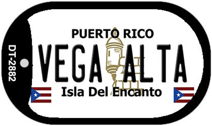 "Vega Alta Puerto Rico Dog Tag Kit 2"" Metal Novelty"