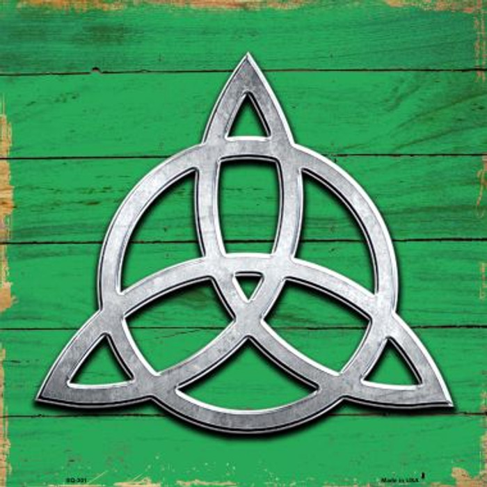 Trinity Novelty Metal Square Sign