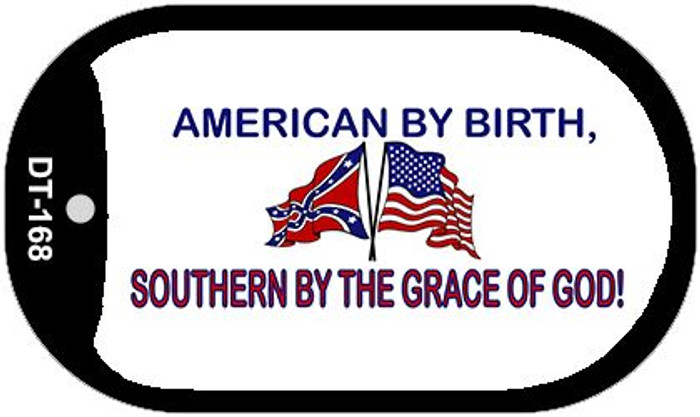 American By Birth Dog Tag Kit Novelty Necklace