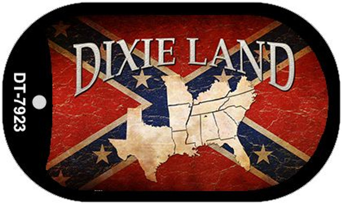 Dixie Land Dog Tag Kit Novelty Necklace